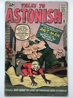 TALES TO ASTONISH #38 1962 MARVEL SILVER AGE COMIC BOOK ASTONISHING ANT-MAN!