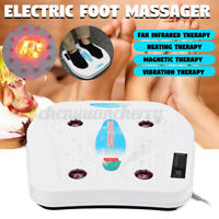 Electric Foot Massager Machine Vibration Massage Infrared Heating Therapy