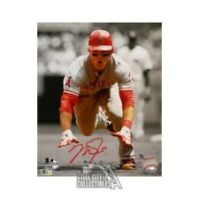 Mike Trout Autographed Los Angeles Angels 8x10 Photo - MLB Hologram (Vertical)