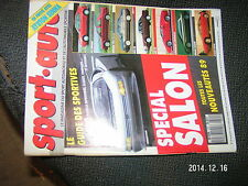 ** Sport Auto n°321 Senna  privé Countach 25 BMW M5 Citroen Activa Peugeot Oxia
