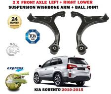 FOR KIA SORENTO 2009->NEW 2X FRONT LOWER SUSPENSION WISHBONE ARM + BALL JOINT