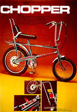 CHOPPER RALEIGH BIKE 1970'S ICONIC VINTAGE STYLE METAL SIGN  HOME DECOR MANCAVE