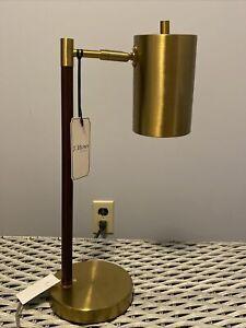J. Hunt Table Lamp Mid Century Modern Style Design Danish Bullet New