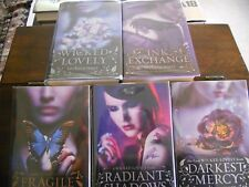 WICKED LOVELY series #1-#5, Melissa Marr, all SIGNED, 1st/1st printings ( HCDJ)