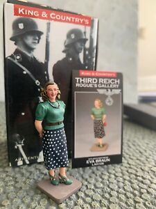 1:30 WWII Eva Braun 'Special Edition' with Collectors Card by King & Country