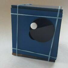 Keyphoto Blue 10cm DIY Pinhole Camera with tripod thread
