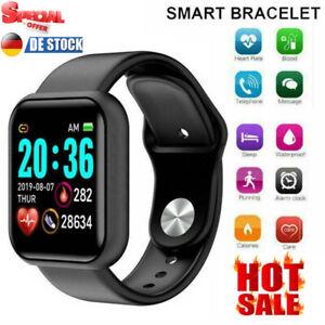 Bluetooth Smartwatch Armband Pulsuhr Blutdruck Fitness Tracker Für Herren Damen