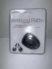 NEW Memorex Digital AM/FM Armband Sport Radio MR4402BK