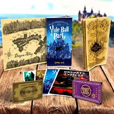 Quality Harry Potter Maps - Diagon Alley, Marauder's Map & Yule Ball invitation