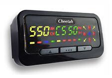 CHEETAH C550 GPS SPEED CAMERA DETECTOR, SPEED TRAP, RED LIGHT CAMERA (BLACK)