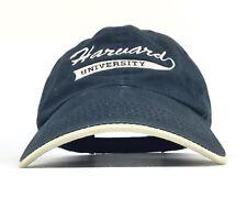 Harvard University Midnight Blue Baseball Cap Hat Adj Men's Cotton