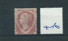 wbc. -  GB - QUEEN VICTORIA - QV406 - 1.5d - red - SG 52 - mint -  gum wrinkles