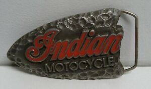 INDIAN MOTOCYCLE BELT BUCKLE TRINITY PRODUCTS 1992