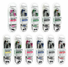 Skullcandy Ink'd in-ear Earphone with Mic Headphone Mfg Sealed Pack GENRIC,