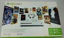 Microsoft Xbox One S 1TB Starter Bundle with 4k Ultra Blu-Ray - New Open Box