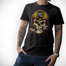 BIKER T-Shirt- SKULL -Motorrad Motorcycle Totenkopf MC  S M L XL XXL 3XL 4XL 5XL