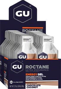 GU Roctane Gel: Chocolate Coconut, Box of 24