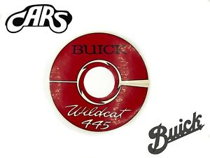 1964-1966 Buick 401 Nailhead 445 Air Cleaner Decal   Wildcat Electra Riviera