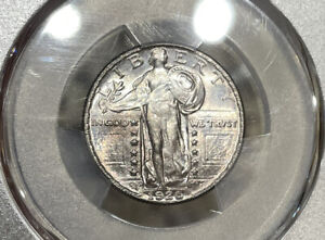 1926-D PCGS & CAC MS64 Standing Liberty Silver Quarter
