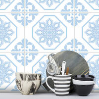 Tile Stickers Transfer Traditional Vintage 250mm x 200mm Kitchen Custom Sizes T3