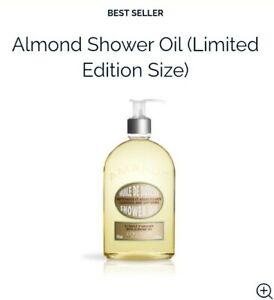 L'Occitane Almond Shower Oil 500ml Cleanse Hydrate Nourish Perfume Skin FreePost