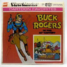 View-Master J1, Buck Rogers in the 25th Century, Cartoon, Children's 3 Reel Set
