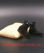 "1/6 Soldier Assault Combat Boots B For 12"" Hot Toys Phicen Female Figure ❶USA❶"