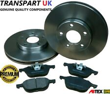 FOR FORD KUGA MK2 2.0 TDCI DIESEL FRONT BRAKE DISCS AND PADS SET 08-11 PREMIUM