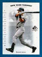 Derek Jeter #36 (2001 Upper Deck SP Authentic) Baseball Card, NY Yankees, HOF