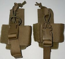 Usmc Coyote Prc-153 Integrated Intra-Squad Radio (Iisr) Pouch Set of 2 New