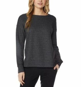 32 Degrees Ladies Fleece Pullover - charcoal - M, XXL, 70-A.1