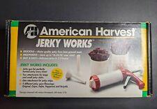 New ListingNesco American Harvest Jerky Works Jerky Maker Gun Press Bjw-1 Sticks Strips