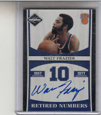 "2012 Panini Limited Retirado Números Walt Frazier"" Clyde / Knicks"" Autógrafo"
