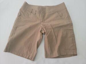 Volcom Stone Gals Size 5 Cargo Khaki Shorts EUC