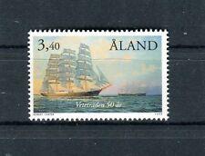 Aland  1999  Velieri nel porto di Victoria Mnh