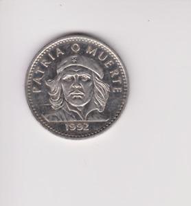 3 pesos PATRIA O MUERTE.1992.PROOF COIN.GH.216
