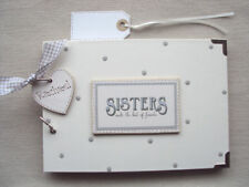 PERSONALISED  ** SISTERS**... . .A5 SIZE  PHOTO ALBUM/SCRAPBOOK/MEMORY BOOK