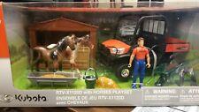 Kubota RTV-1120D with Horses Playset 77700-08699
