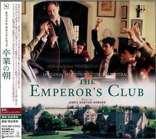 "James Newton Howard ""THE EMPEROR'S CLUB"" soundtrack Japan CD SEALED"