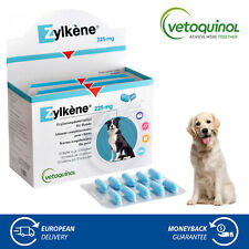 Vetoquinol Zylkene 225mg for Dogs & Cats Stress Anxiety Relief Food Supplement