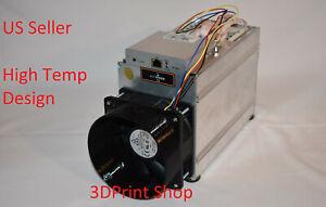 """Antminer T9 S1 S3 S5 S7 S9 A3 D3 L3 V9 X3 5"""" 120mm High Temp Fan Duct Shroud"""