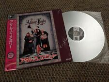 The Addams Family Laserdisc Japan SRLP-5024 Comedy Horror