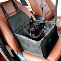 Foldable Dog Cat Car Safety Travel Bag, Pet Booster Carrier Pet Dog Booster