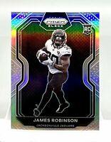 2020 Panini Chronicles James Robinson Silver Prizm Black RC PB-16