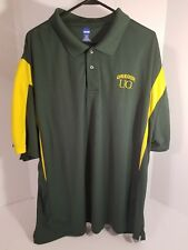 Mens Oregon Ducks Green Yellow Ncaa By Ka Inc. Jersey 2xl 2xG