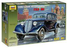 ZVEZDA 3634 - 1:35, gaz m1 Soviet staff car, GMK World était II, Plastique Modélisme