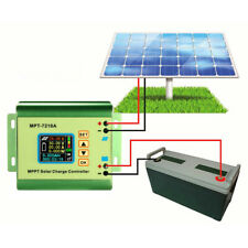 MPT-7210A MPPT Solar Charge Controller 24/36/48/60/72V Battery Charger Regulator