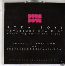 (M611) Soda Boys, Everbody Cha Cha - DJ CD
