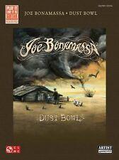 Joe Bonamassa Dust Bowl Learn to Play Jazz Blues Guitar TAB Music Book