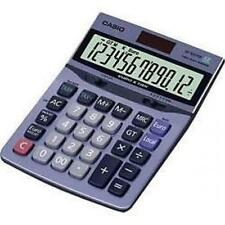 Casio Df120ter Desk Calculator Tax & Euro Calculations 12 DIGIT Display Solar